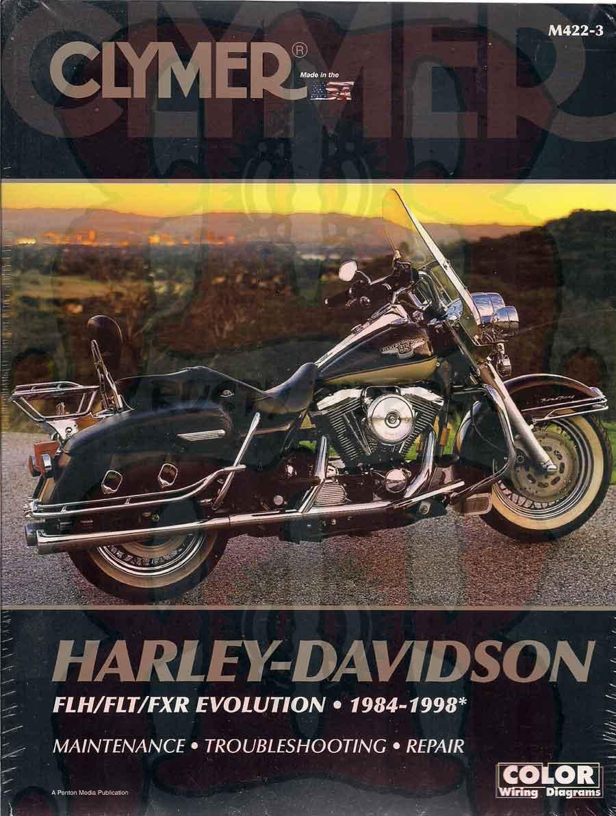 Harley Davidson Flh Flt Fxr 1984